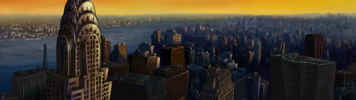 Animation shot - New York City